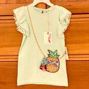 NWT Jessica Simpson Pineapple Dress 2